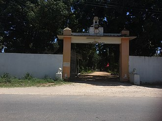 Hinduism in Tanzania - Crematorium in Dar es Salaam.