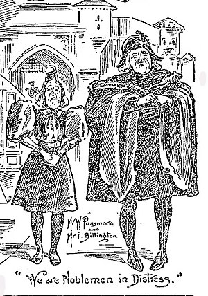 His Majesty (comic opera) - Walter Passmore and Fred Billington in Act II