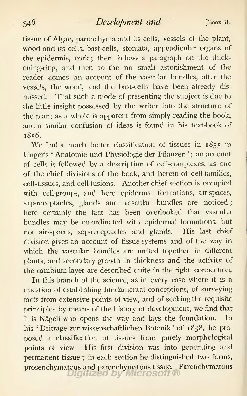 Page:History of botany (Sachs; Garnsey).djvu/366 - Wikisource, the ...