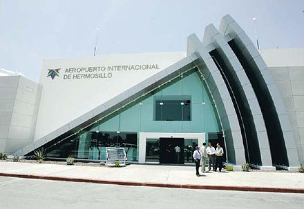 Entrance to the Hermosillo Airport Hmoair.jpg
