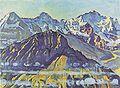 Hodler - Eiger, Mönch und Jungfrau in der Morgensonne - 1908.jpg