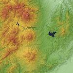 Hokushin Five Mountains SRTM-1.jpg