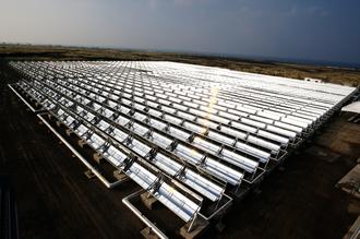 Solar power in Hawaii - MicroCSP collectors on the Big Island of Hawaii