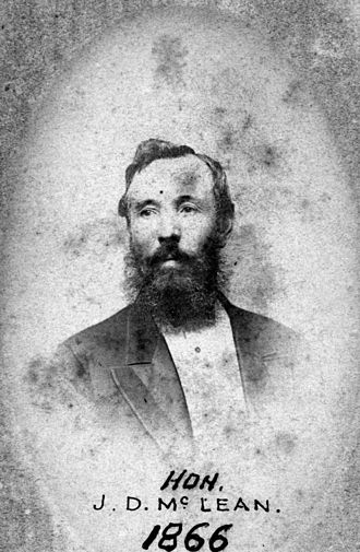 John Donald McLean - Image: Hon John Donald Mc Lean