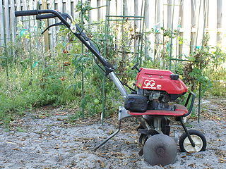 Cultivator Farm implement used for secondary tillage