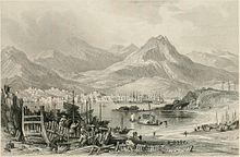 Engraving of Hong Kong Island