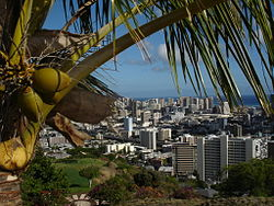 Skyline of Honolulu, Hawaii