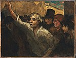 Honoré Daumier - The Uprising (L'Emeute) - Google Art Project.jpg