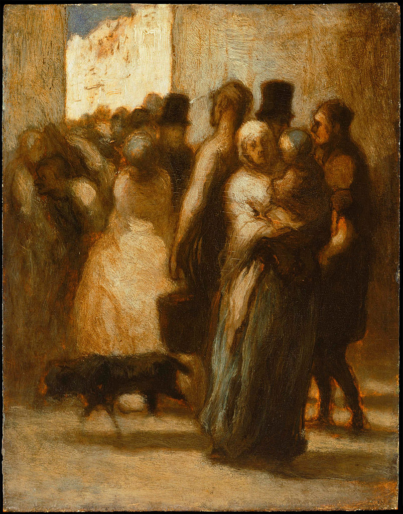 https://upload.wikimedia.org/wikipedia/commons/thumb/5/55/Honor%C3%A9_Daumier_-_To_the_Street_-_Google_Art_Project.jpg/803px-Honor%C3%A9_Daumier_-_To_the_Street_-_Google_Art_Project.jpg