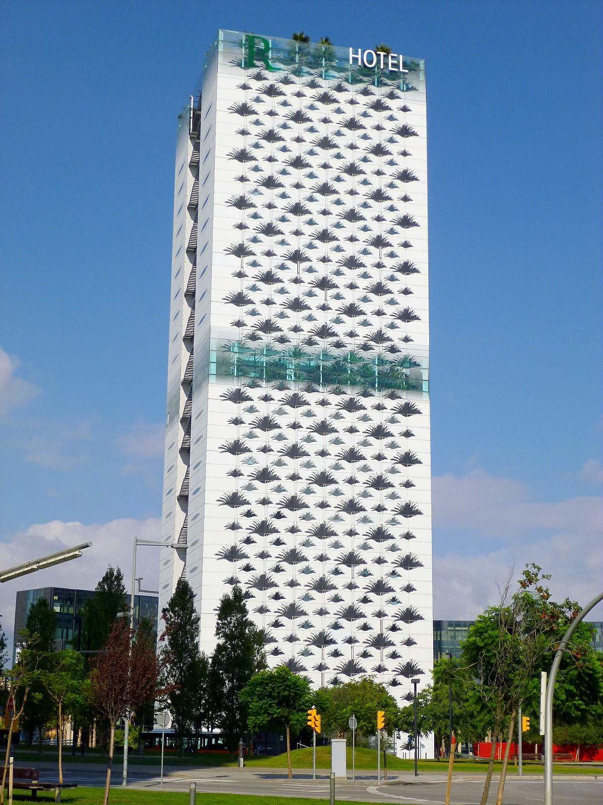 Renaissance barcelona fira hotel wikipedia for Hotel barcelone