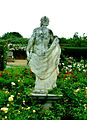 Houghton Hall May 2004 gardens statue.jpg