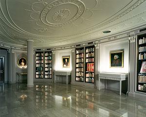 Mary Eccles, Viscountess Eccles - The Hyde Room at Houghton Library, Harvard University