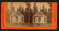 House over the Stump of the Original Big tree, diameter 32 feet, Mammoth Trees of Calaveras Co., California, by Pond, C. L. (Charles L.).png