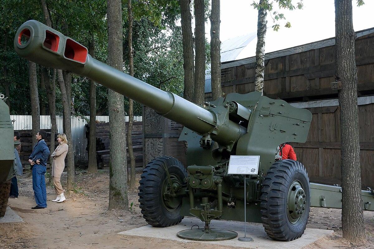 152 mm towed gun howitzer m1955 d 20 wikipedia. Black Bedroom Furniture Sets. Home Design Ideas