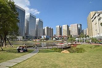 Guiyang - Huaguoyuan commercial hub (2015)