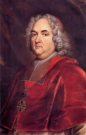 Damian Hugo Philipp von Schönborn - Portrait of the Cardinal