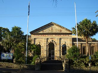 Municipality of Hunter's Hill - Hunters Hill Town Hall