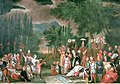 Hunting Party with the Sultan Jean Baptiste Vanmour 18th century.JPG