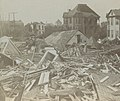 "Hurricane of 1900 detail, from- ""Topsy-Turvy"" - A Characteristic Scene in one of the Worst Stricken Districts, Galveston, Texas. (6254835554) (cropped).jpg"