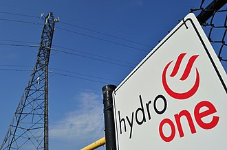 Hydro One - Hydro One's overhead power lines