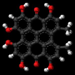 Hypericin - Image: Hypericin 3D ball