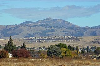 Mount Hamilton (California) mountain in California, United States