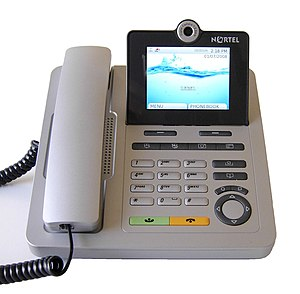 English: Nortel IP Video Phone 1535
