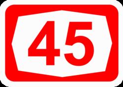 45 >> כביש 45 ויקיפדיה