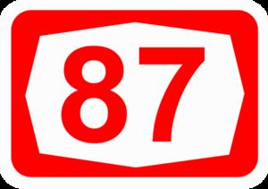 Highway 87 (Israel) - Image: ISR HW87