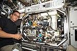 ISS-53 Joseph Acaba works inside the Destiny lab.jpg