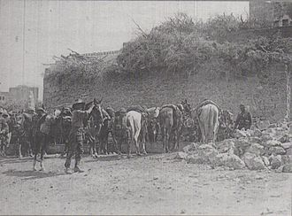 Battle of Tulkarm - Chasseurs d'Afrique and 5th Light Horse Brigade at Anebta