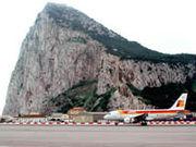 The first Iberia flight lands at Gibraltar.