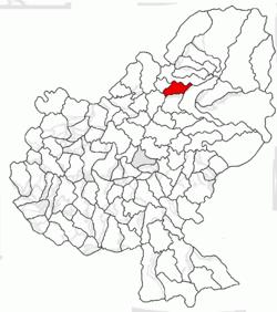 Vị trí của Ideciu de Jos