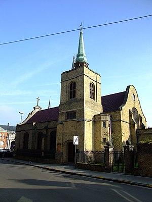 Saint George's Memorial Church, Ypres - Image: Ieper Saint George's Memorial Church 2