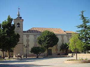 Church of San Andrés Apóstol - Image: Iglesia en Cubas de la Sagra