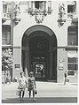 """Ignacy Płażewski, Brama tzw. """"Kamienicy pod Gutenbergiem"""" przy ulicy Piotrkowskiej 86 w Łodzi, I-4721-7.jpg"""