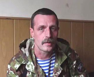 Pro-Russian terrorist on Eastern Ukraine