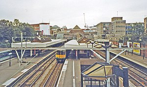 Ilford railway station - Ilford railway station in 2002