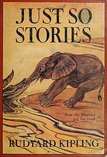 Illustration at Cover of Just So Stories (c1912)