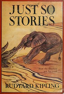 alt=JUST SO STORIES  How the Elephant  got his trunk   RUDYARD KIPLING