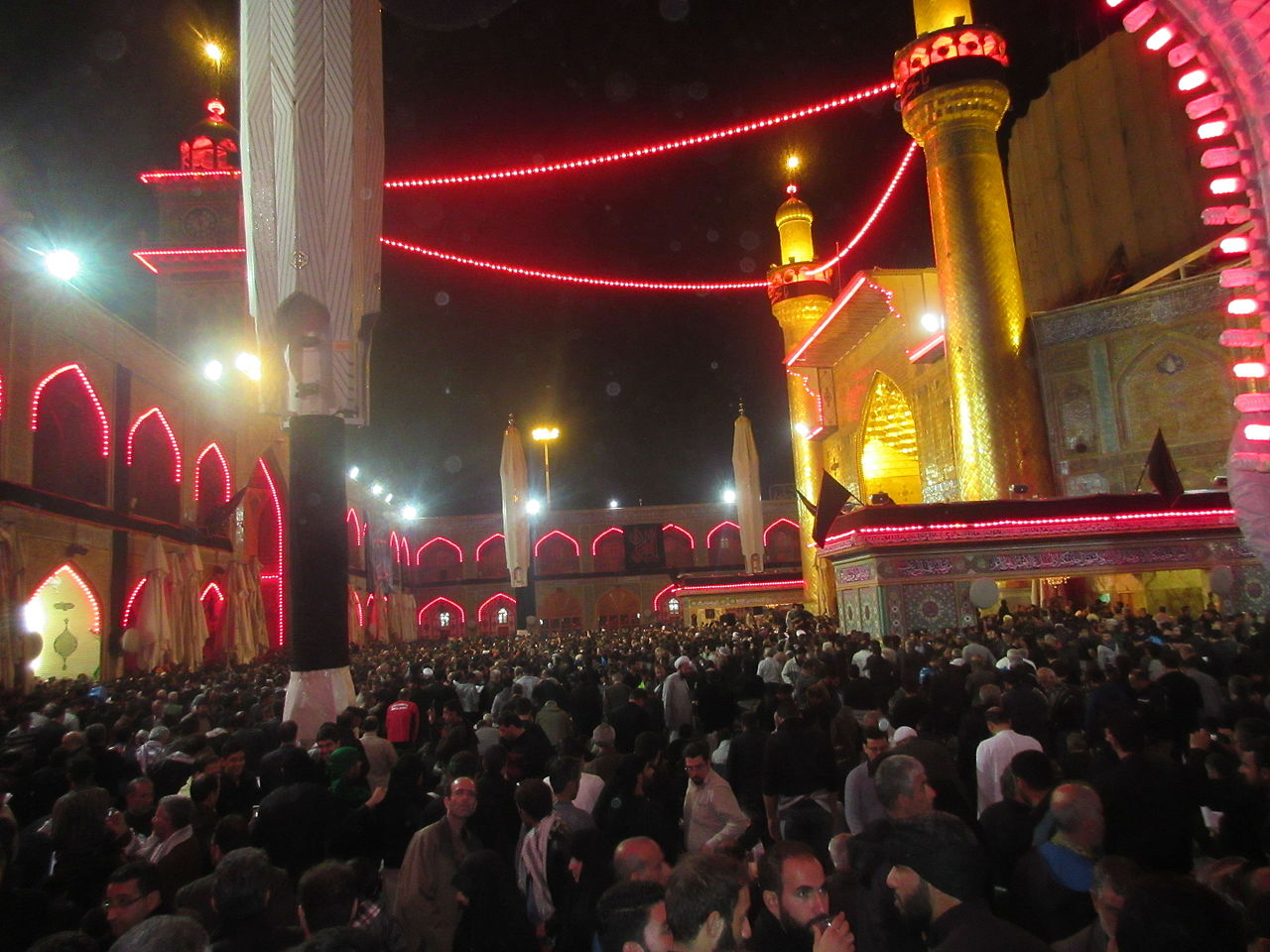 Maula Ali Shrine Wallpaper: File:Imam Ali's Shrine, Arbaeen 2015.JPG
