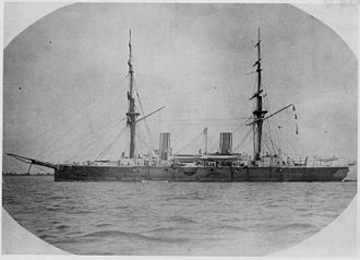 Nowell Salmon - The armoured cruiser HMS ''Imperieuse'', Salmon's flagship as Commander-in-Chief, China Station