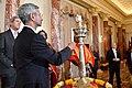 Indian Ambassador Dr. S. Jaishankar Lights the Diya at the State Department's Diwali Celebration.jpg