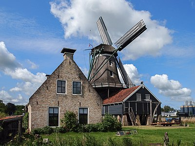 Saw windmill (IJlst, the Netherlands)
