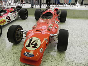 1967 Indianapolis 500 - Image: Indy 500winningcar 1967