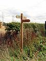 Ings Lane Signpost - geograph.org.uk - 224783.jpg