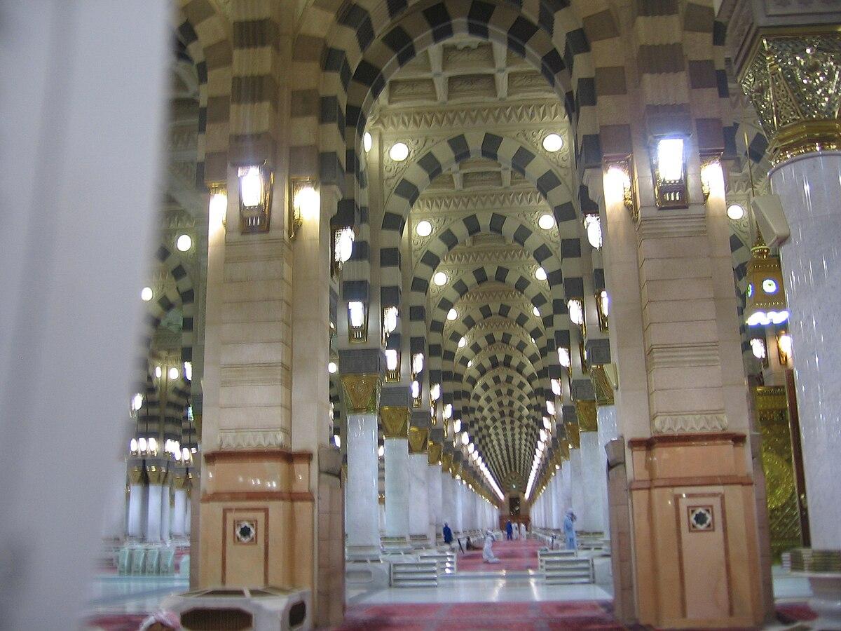 Al Masjid Al Nabawi المسجد النبوي Wikimedia