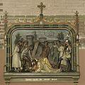 Interieur, kruiswegstatie- Jezus valt de eerste maal - Sappemeer - 20399378 - RCE.jpg