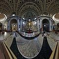 Interior Oudenbosch Basilica 11 One Third Copy of Saint Peter's Basilica in Rome - 360° photograph.jpg