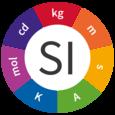 The SI logo